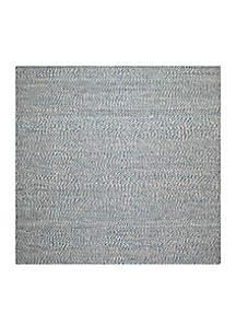 Safavieh Natural Fiber Blue/Ivory Area Rug 6-ft. x 6-ft.