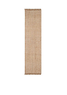 Natural Fiber Bleach/Natural Area Rug 2-ft. 6-in. x 8-ft.