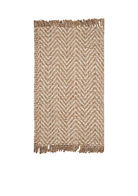 Natural Fiber Bleach/Natural Area Rug 4-ft. x 6-ft.