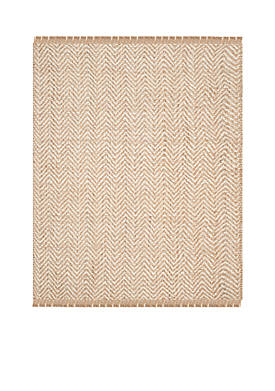 Natural Fiber Bleach/Natural Area Rug 8-ft. x 10-ft.