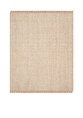Natural Fiber Bleach/Natural Area Rug 9-ft. x 12-ft.