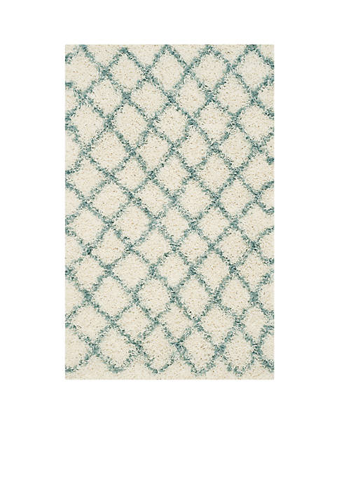 Safavieh Dallas Shag Ivory/Seafoam Area Rug 3-ft. x