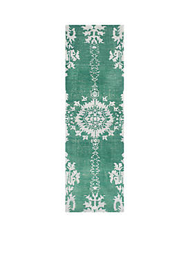 Stone Wash Emerald Area Rug 2-ft. 6-in. x 6-ft.