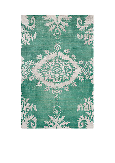 Stone Wash Emerald Area Rug 5-ft. x 8-ft.