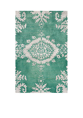 Stone Wash Emerald Area Rug 6-ft. x 9-ft.