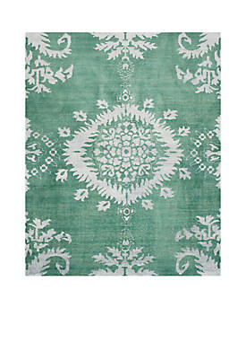 Stone Wash Emerald 8-ft. x 10-ft. Area Rug