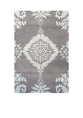 Stone Wash Gray Area Rug 3-ft. x 5-ft.