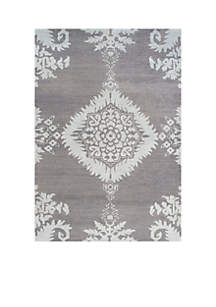 Stone Wash Gray Area Rug 4-ft. x 6-ft.