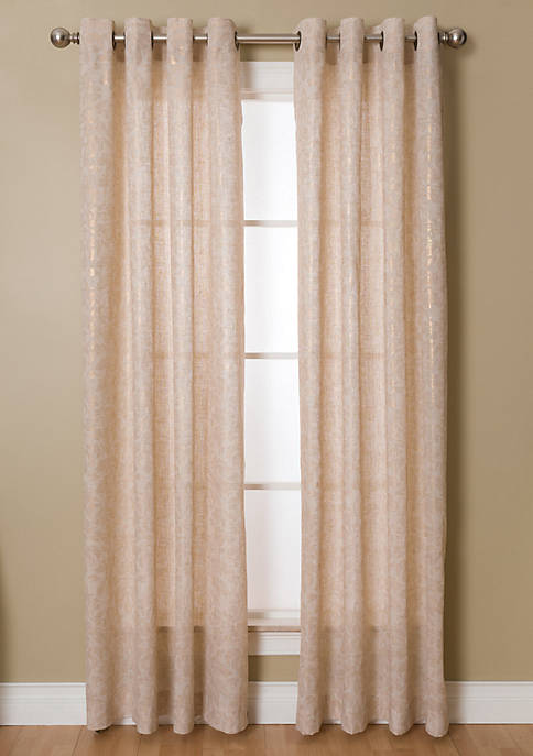 Kailey 54X63 Natural / Gold Grommet Pnl