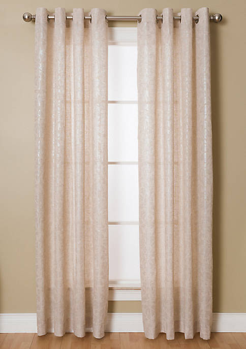 Kailey 54X84 Natural / Silver Grommet Pnl