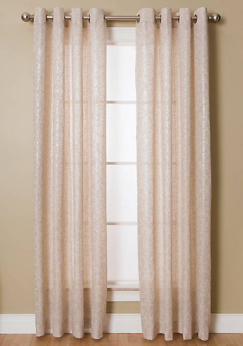 Kailey 54X95 Natural / Silver Grommet Pnl