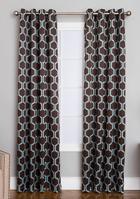Winston Aslyn Chocolate Grommet Panel