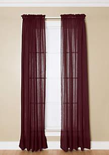 Preston Merlot Rod Pocket Panel
