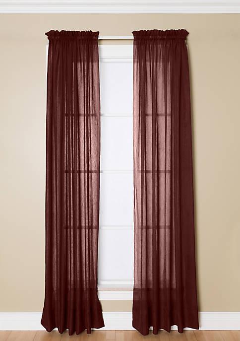 Preston Crimson Rod Pocket Panel