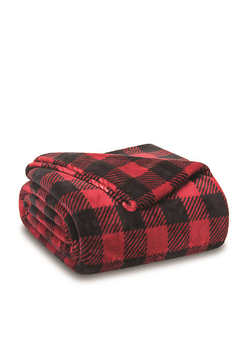Winters Night Plush Blankets