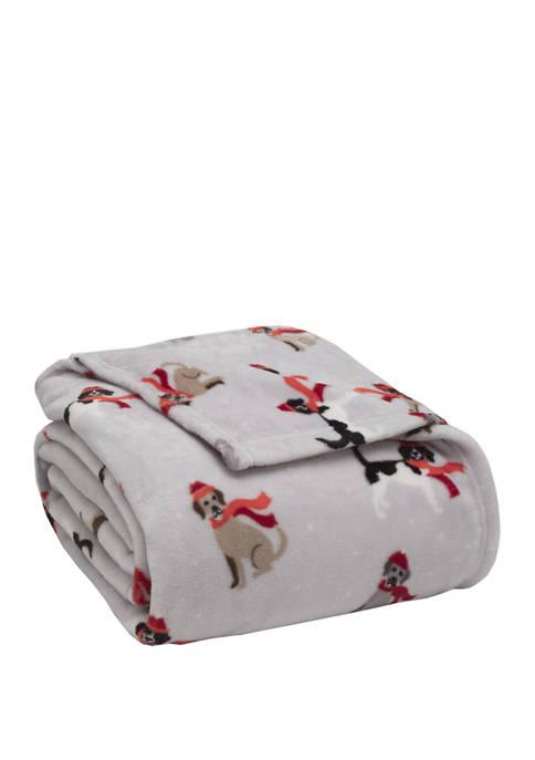 Winter Tails Plush Blanket