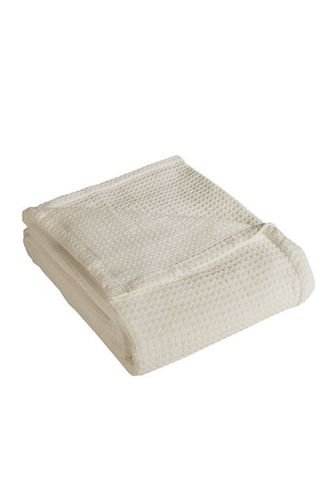 Elite Home Products Grand Hotel Cotton Blanket