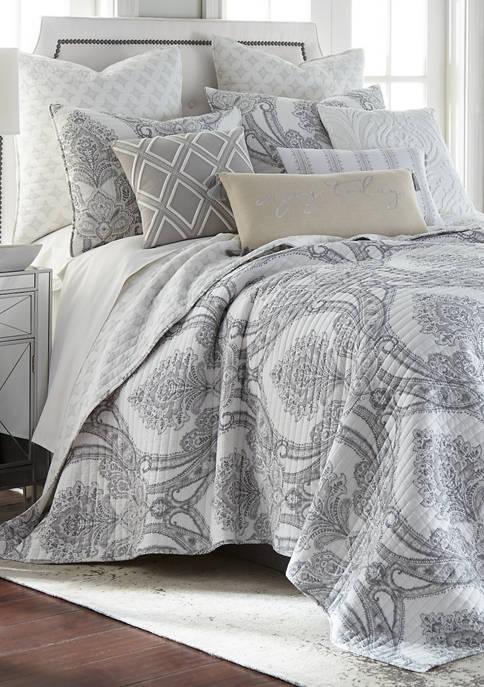 Levtex Novara Grey Quilt Set