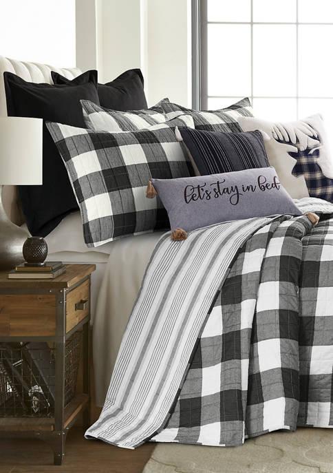 Levtex Camden Black Bedspread Set