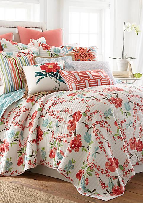 Levtex Malena Floral Quilt Set