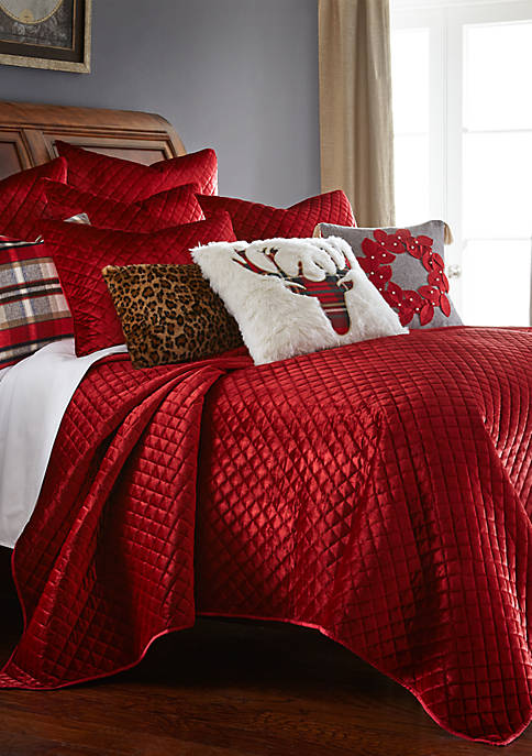 Levtex Red Velvet Quilt Set Belk