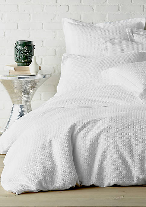 Levtex Home Regency White King Duvet Cover