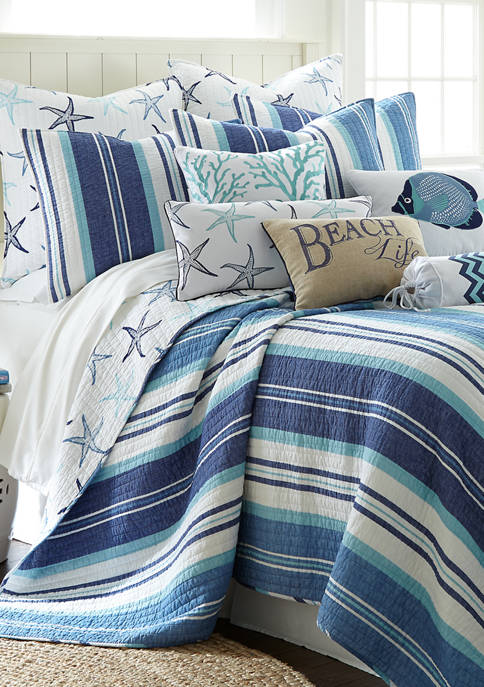 Levtex Home Camps Bay Reversible Quilt Set