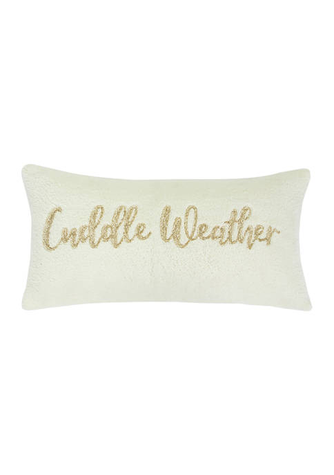 Arte Boema Madera Cuddle Weather Pillow