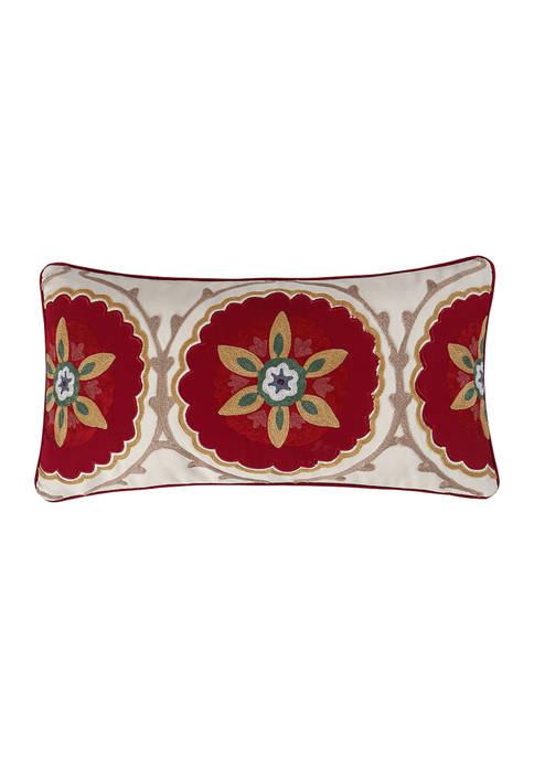 Moritz Crewel Medallion Pillow
