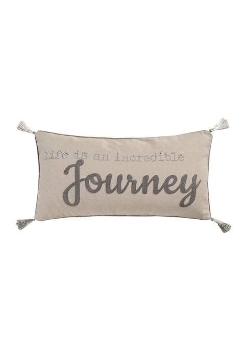 Levtex Arista Life Journey Pillow