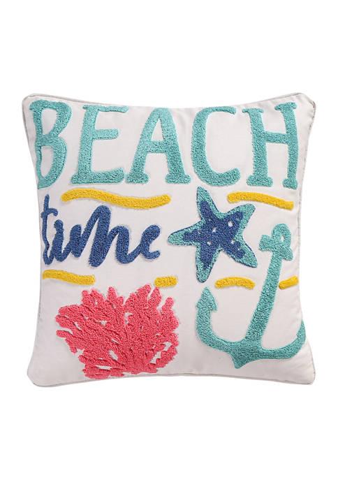 Levtex Playa Vista Beach Time Pillow
