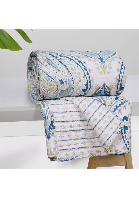 HomThreads Alita Quilted Throw
