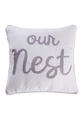 Vasari Stripe Our Nest Pillow