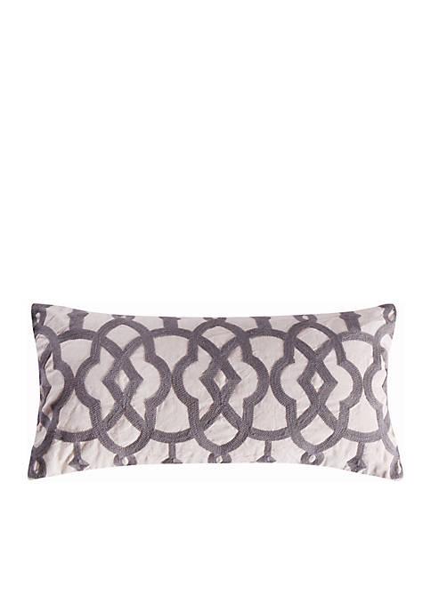 Vasari Trellis Linen Pillow