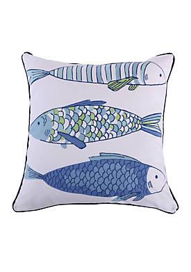 Kochi Fish Printed Fish Pillow