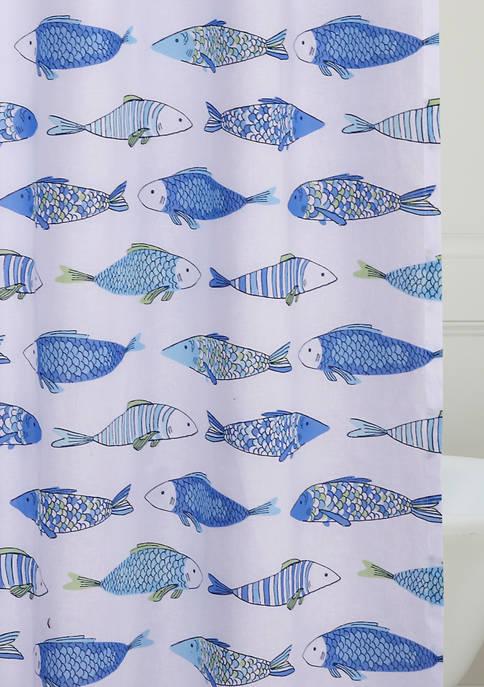 Catalina Fish Shower Curtain