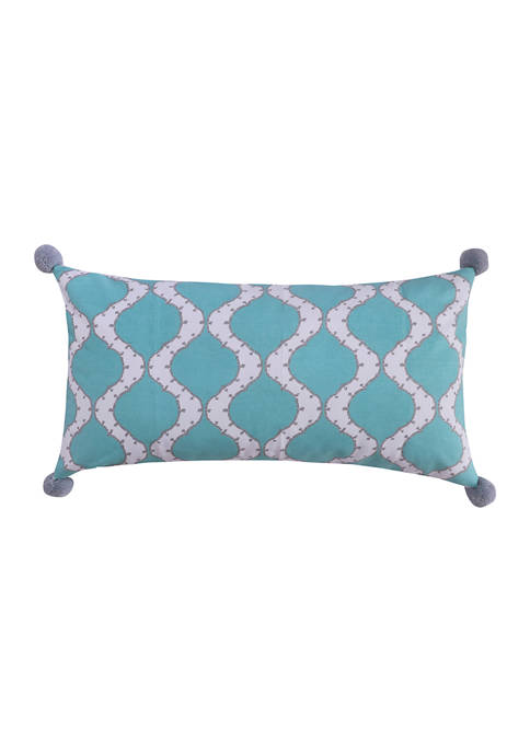 Levtex Grammercy Large Pom Pillow