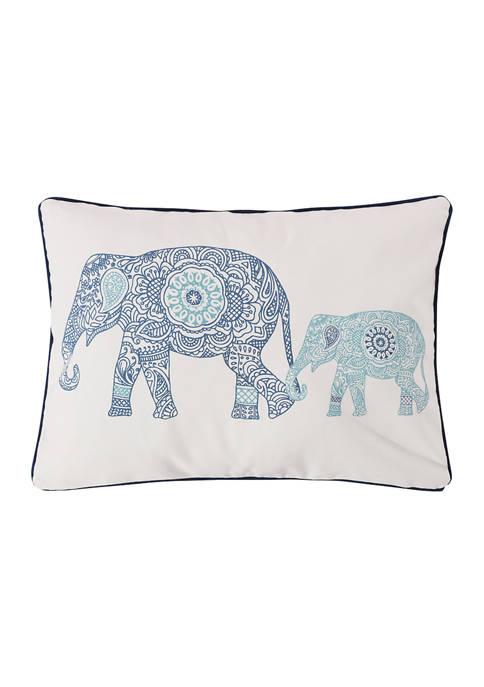 Tania Elephants Pillow