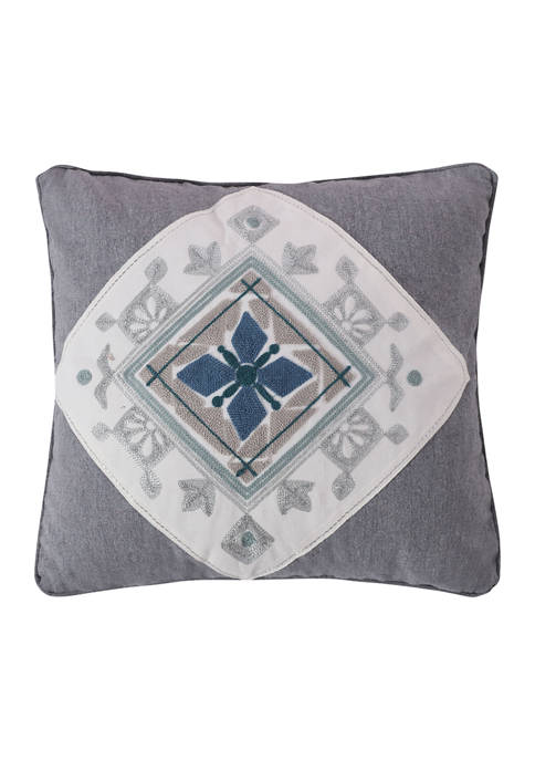 Tania Crewel Medallion Pillow