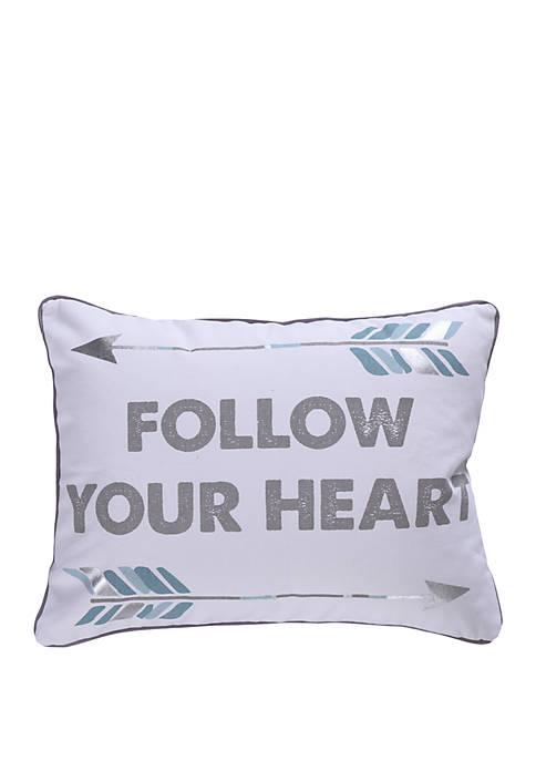 Kavi Follow Your Heart Pillow