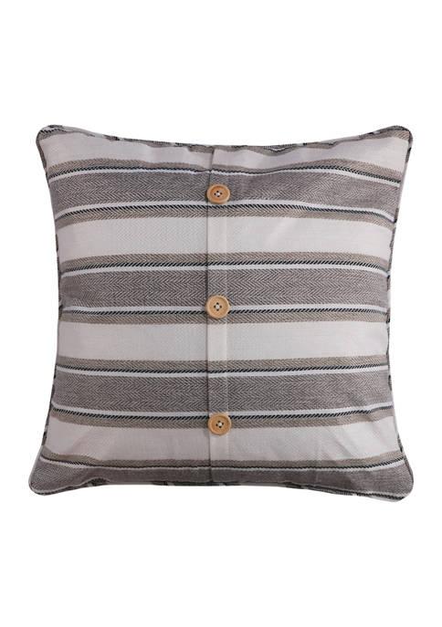 Levtex Kasidy Button Pillow