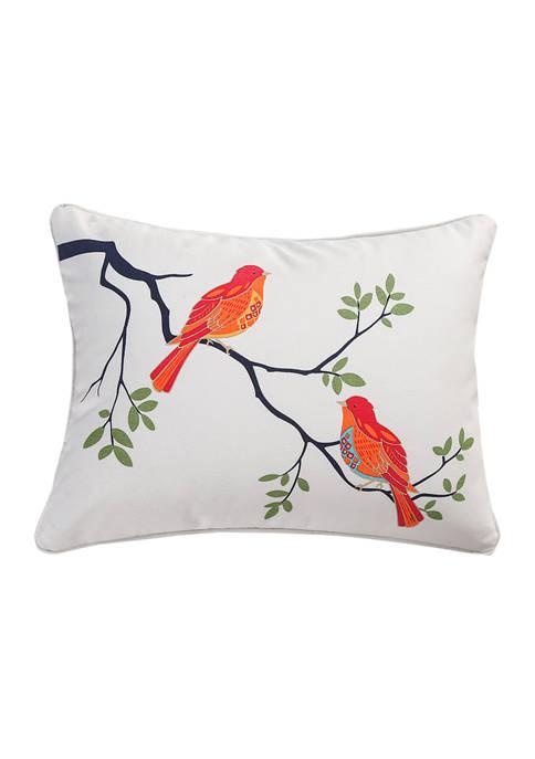 Cleo Birds Pillow
