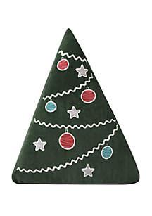 Levtex Santa Claus Lane Christmas Tree Pillow