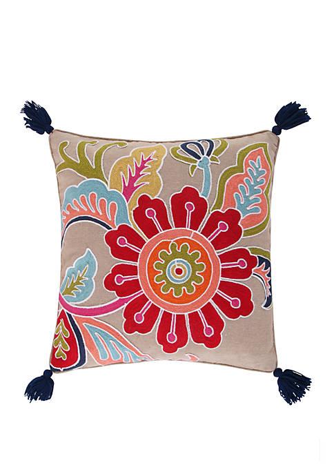 Jules Flower Pillow