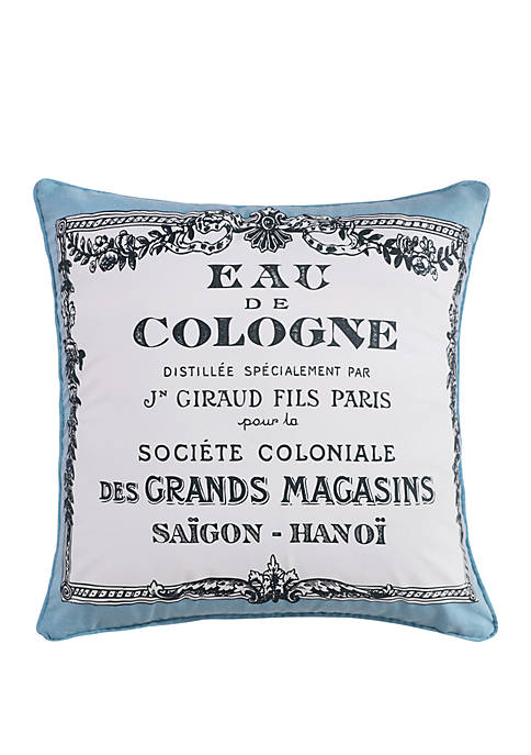 Montecito Screenprinted Pillow