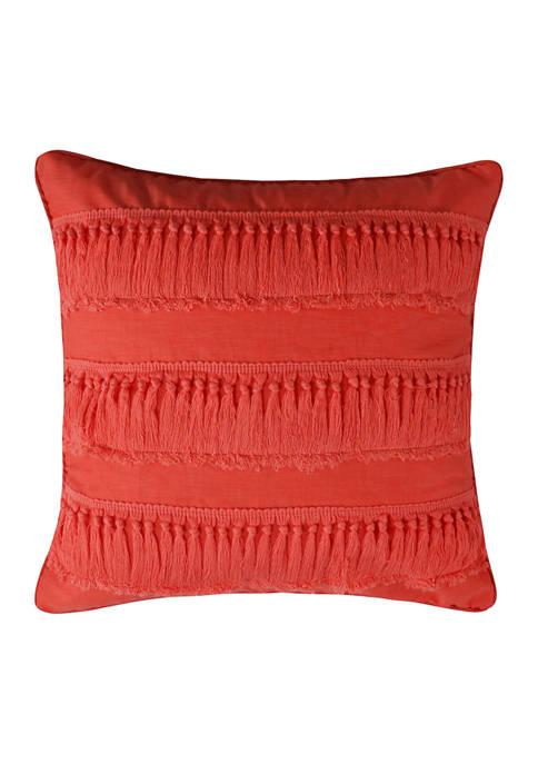 Majestic Tassel Trim Pillow