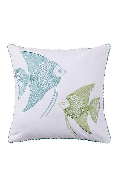Bethany Beach Fish Pillow