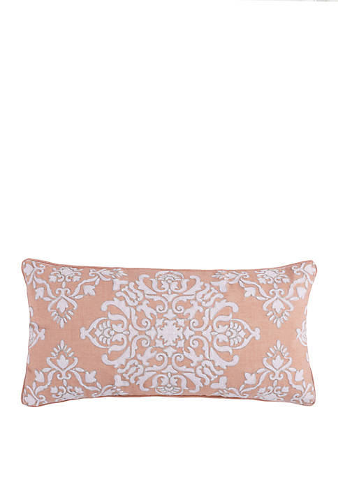 Darcy Silver Stitch Pillow