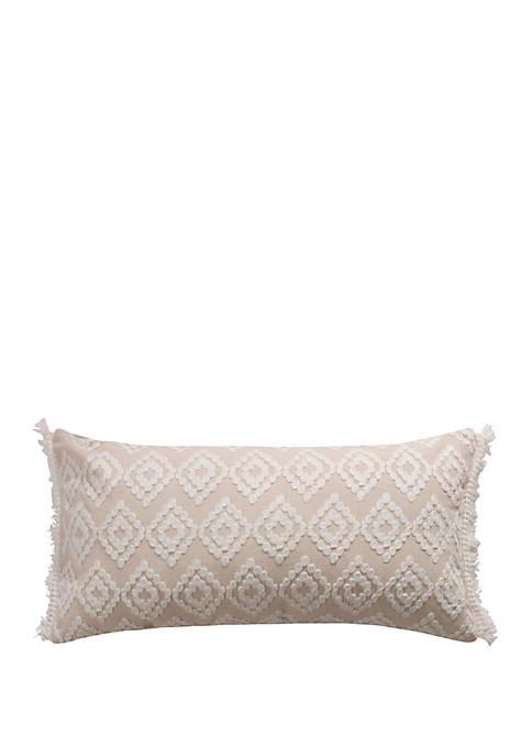 Addie Cream Diamond Pillow