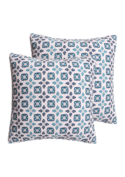 Levtex Addie Euro Pillow Shams